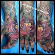 rosehandtattoo