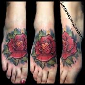 rosefoottattoo