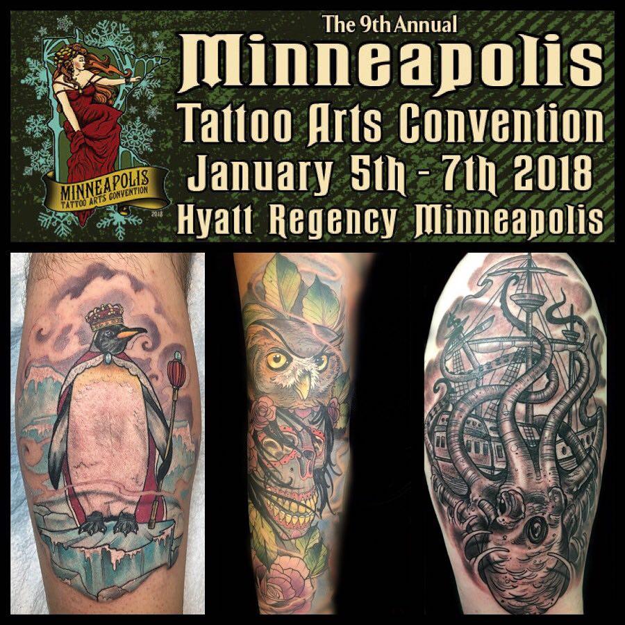 The 9th Annual Minneapolis Tattoo Convention
