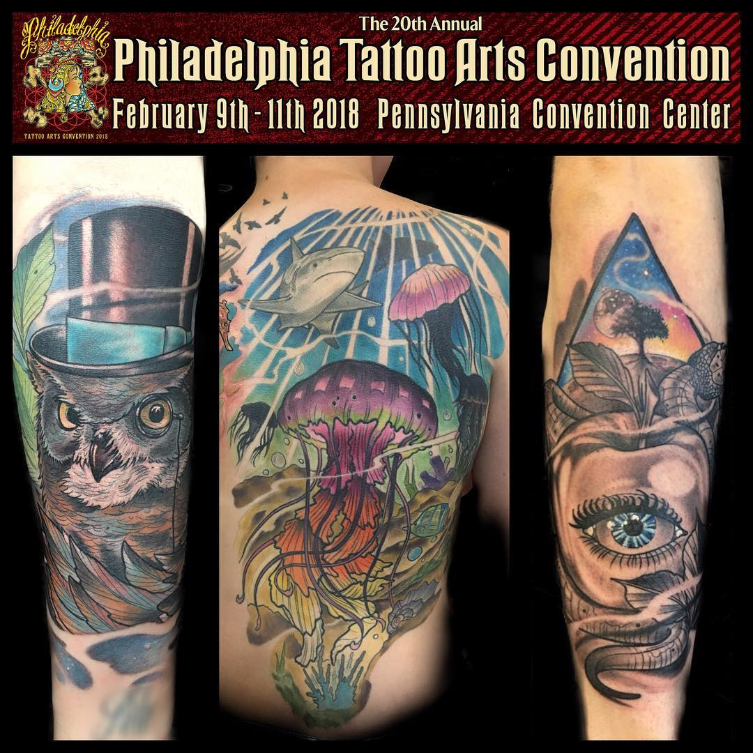20th Annual Philadelphia Tattoo Arts Convention