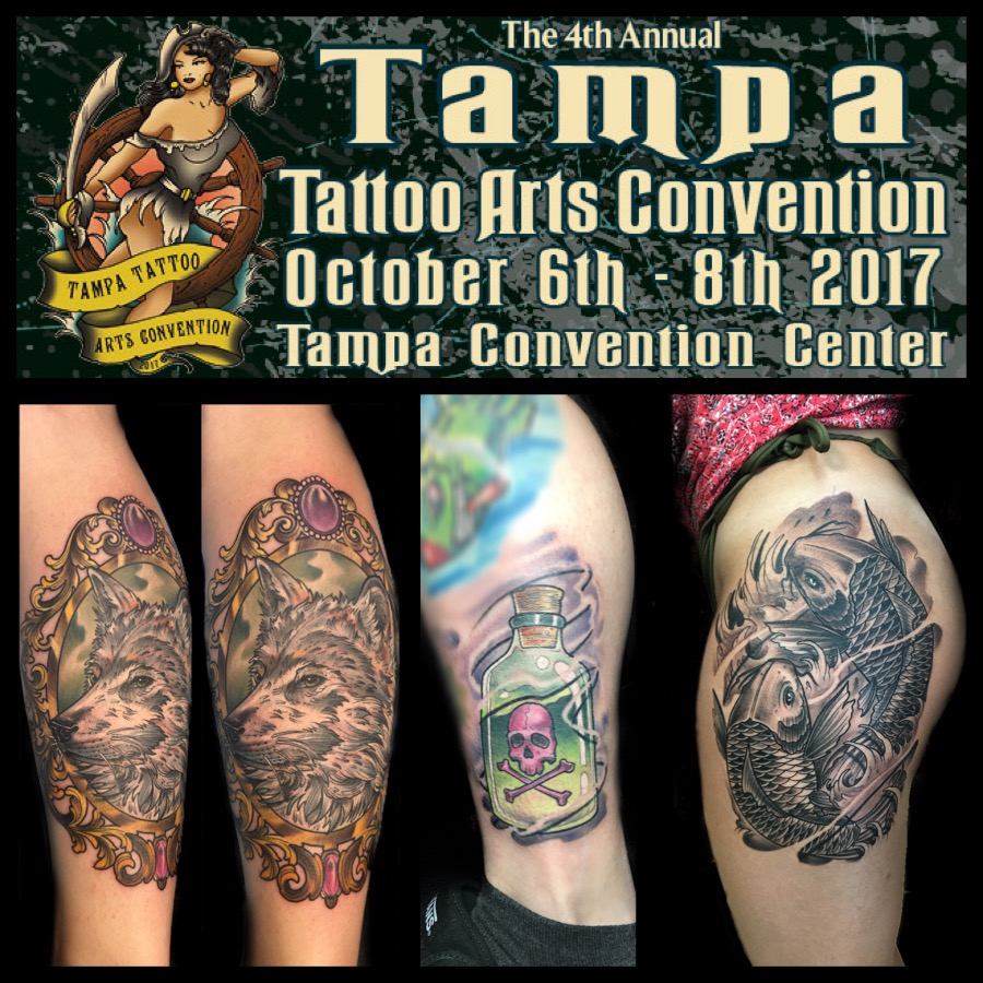 The 4th Annual Tampa Tattoo Convention