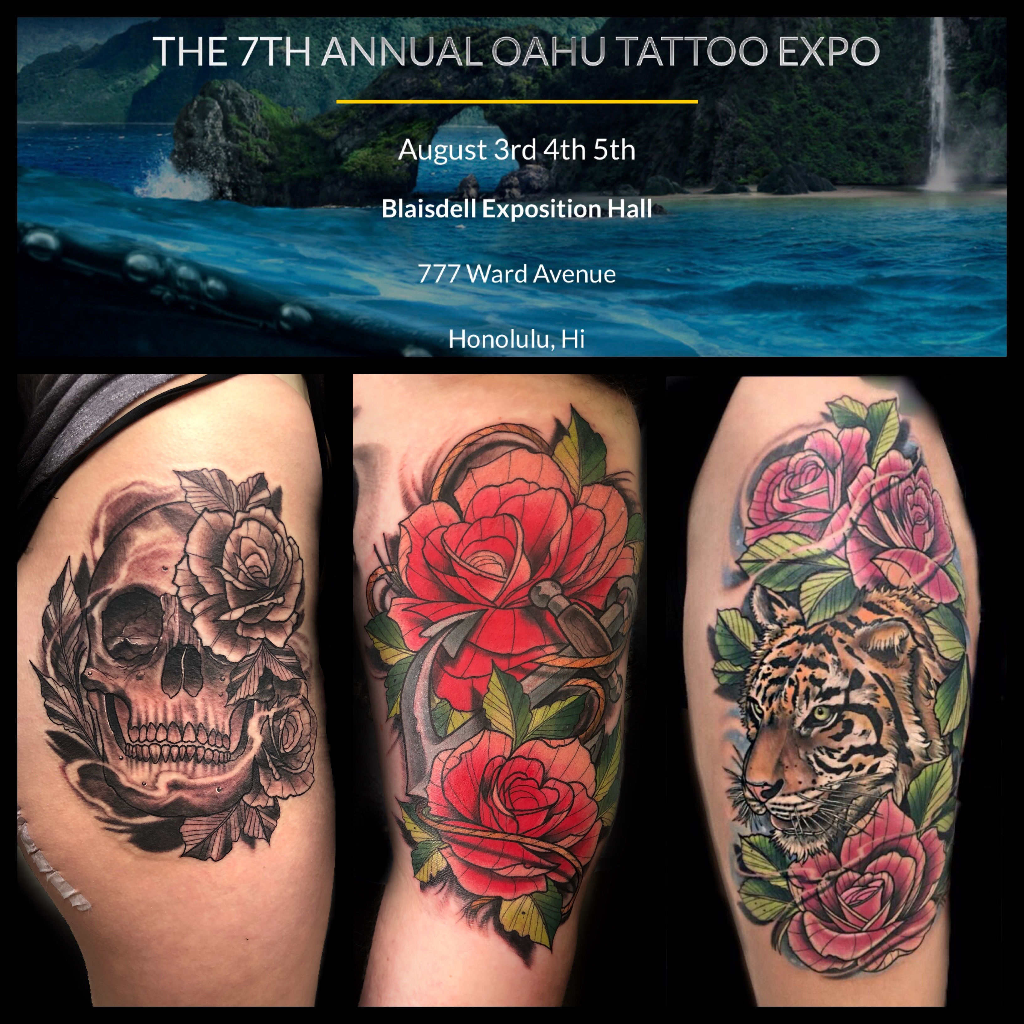 The 7th Annual Oahu Tattoo Expo