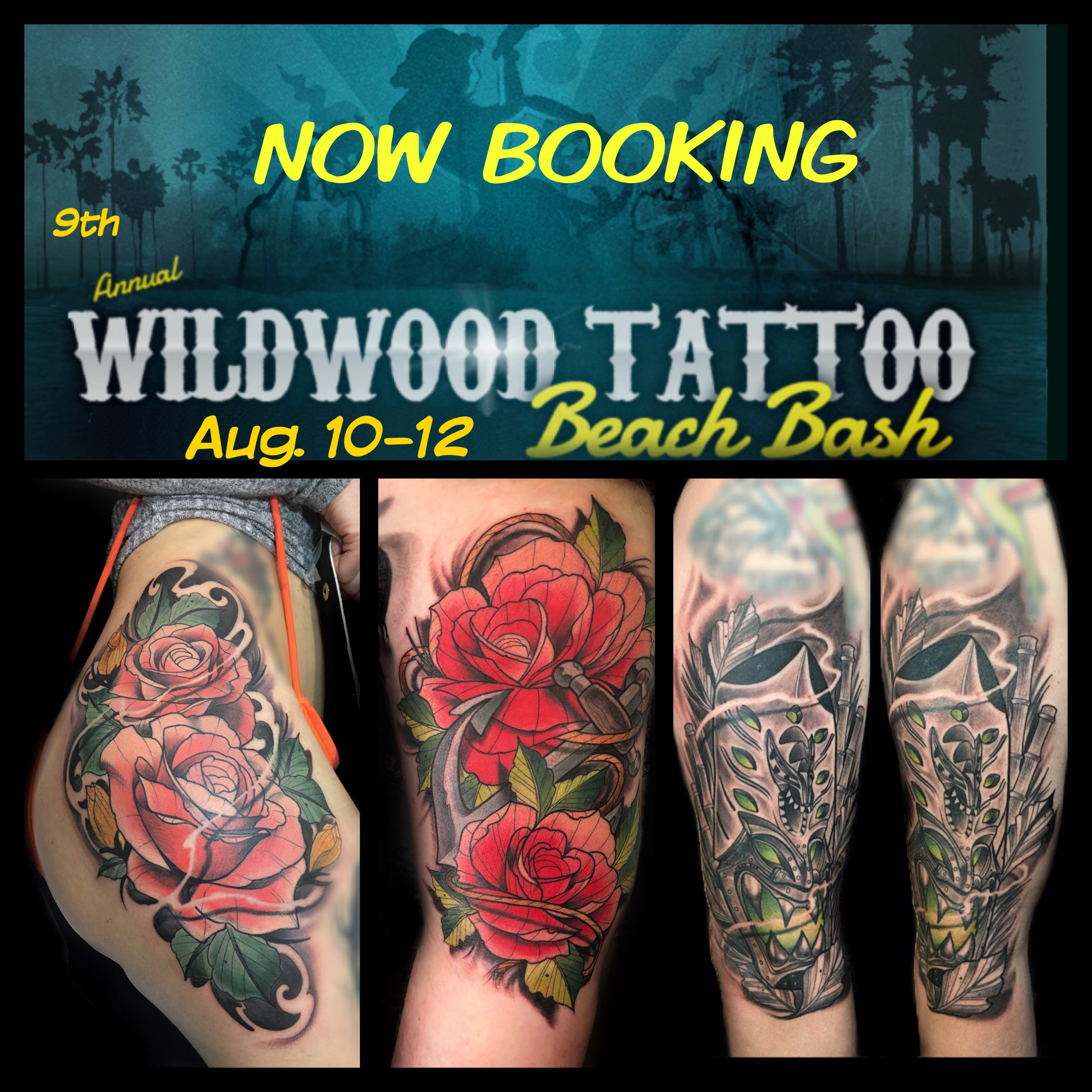 The 9th Annual Wildwood Tattoo Beach Bash